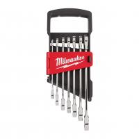 MILWAUKEE Sada kombinovaných ráčnových klíčů MAX BITE s metrickými mírami (7 ks) 4932464993