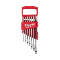 MILWAUKEE Sada kombinovaných ráčnových klíčů MAX BITE s coulovými mírami (7 ks) 4932464995