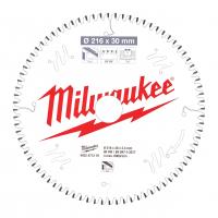 MILWAUKEE Pilový kotouč hliník 216X30X2.4X80TF NEG. 4932471319