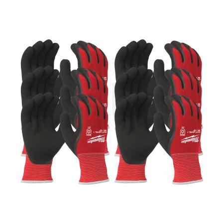 MILWAUKEE Zimní rukavice odolné proti proříznutí Stupeň 1 -  vel M/8 - 12ks  4932471606