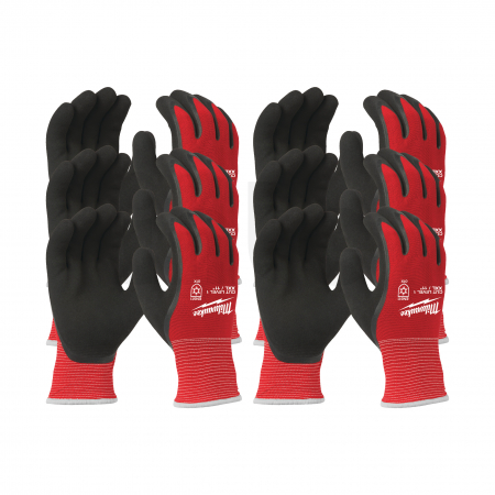 MILWAUKEE Zimní rukavice odolné proti proříznutí Stupeň 1 -  vel XXL/11 - 12ks  4932471609