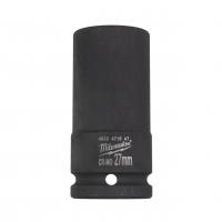 """MILWAUKEE Průmyslové hlavice Shockwave 3/4"""" HEX 27mm prodloužené 4932471647"""