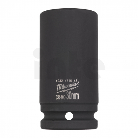 """MILWAUKEE Průmyslové hlavice Shockwave 3/4"""" HEX 30mm prodloužené 4932471648"""