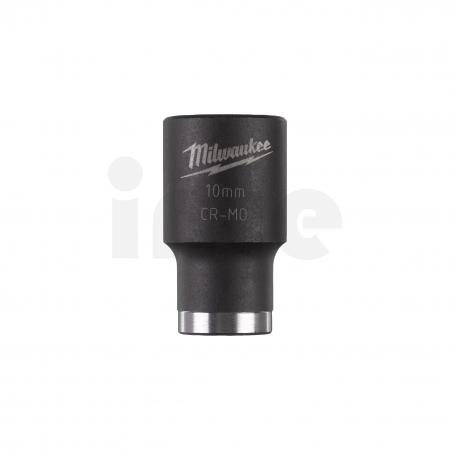 """MILWAUKEE Průmyslové hlavice Shockwave 3/8"""" HEX 10mm krátké 4932478009"""