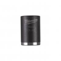 """MILWAUKEE Průmyslové hlavice Shockwave 3/8"""" HEX 18mm krátké 4932478017"""