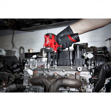 """MILWAUKEE Průmyslové hlavice Shockwave 3/8"""" HEX 13mm prodloužené 4932478025"""