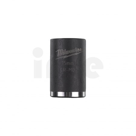 """MILWAUKEE Průmyslové hlavice Shockwave 1/2"""" HEX 15mm krátké 4932478040"""