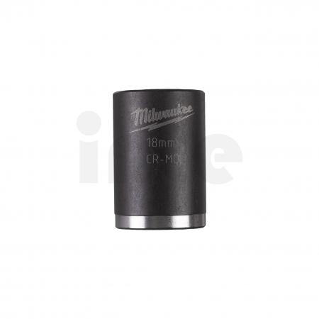"""MILWAUKEE Průmyslové hlavice Shockwave 1/2"""" HEX 18mm krátké 4932478043"""