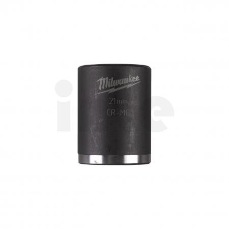 """MILWAUKEE Průmyslové hlavice Shockwave 1/2"""" HEX 20mm krátké 4932478045"""