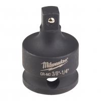 "MILWAUKEE Adaptér Shockwave HEX  z 3/8"" čtyřhran  na 1/4"" čtyřhran 4932478052"