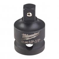 "MILWAUKEE Adaptér Shockwave HEX  z 1/2"" čtyřhran na 3/8"" čtyřhran 4932478053"