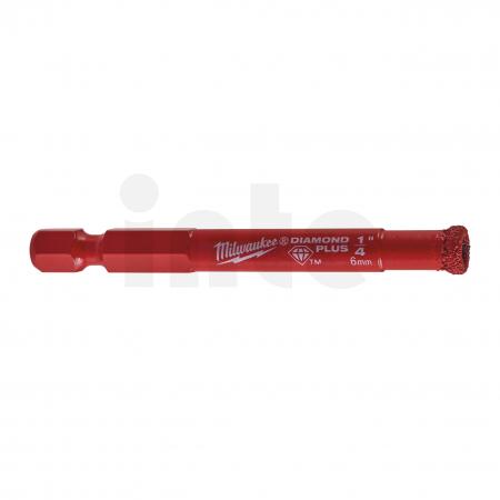 MILWAUKEE Vrták Diamond Plus 6mm 49560505