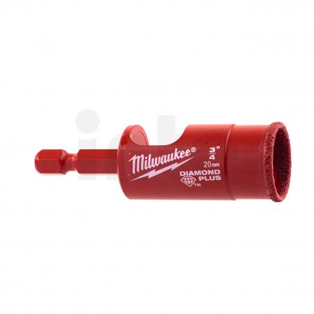 MILWAUKEE Vrták Diamond Plus 20mm 49560515
