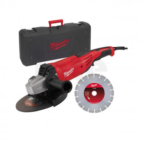 MILWAUKEE AG22-230E - 2200 W úhlová bruska 4933440300