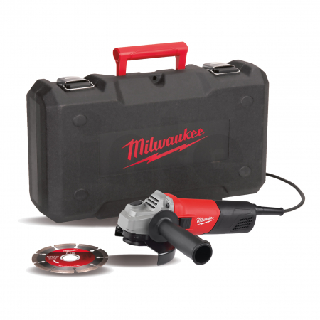 MILWAUKEE AG800-115ED-SET  - 800 W Úhlová bruska 4933451281