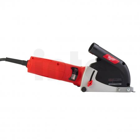 MILWAUKEE AGV12-125X DEC-SET - 1200 W úhlová bruska s odsáváním prachu (28 mm DOC) 4933448020