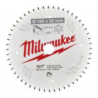 MILWAUKEE Pilový kotouč hliník 160x20x2,2x52TF 4932471292