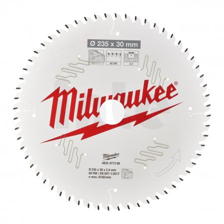 MILWAUKEE Pilový kotouč dřevo 235X30X2.4X60ATB 4932471308