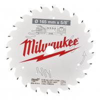MILWAUKEE Pilový kotouč dřevo 165X15.87X1.6X24ATB 4932471311