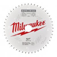 MILWAUKEE Pilový kotouč dřevo 216X30X2.4X48ATB NEG. 4932471316