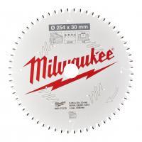 MILWAUKEE Pilový kotouč dřevo 254X30X3.0X60ATB NEG. 4932471320