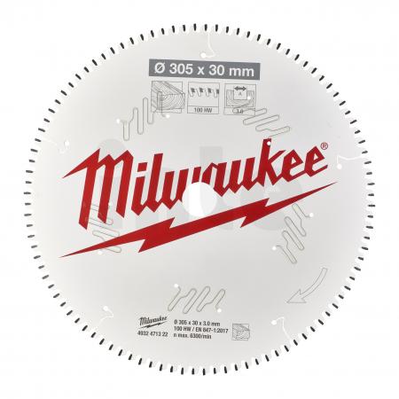 MILWAUKEE Pilový kotouč dřevo 305X30X3.0X100ATB NEG. 4932471322
