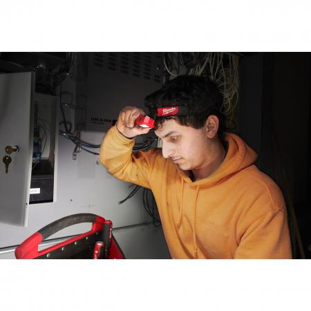 MILWAUKEE HL2-LED - Tenká alkalická čelová lampa  4933471286