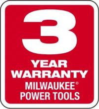 Milwaukee - 3 letá záruka